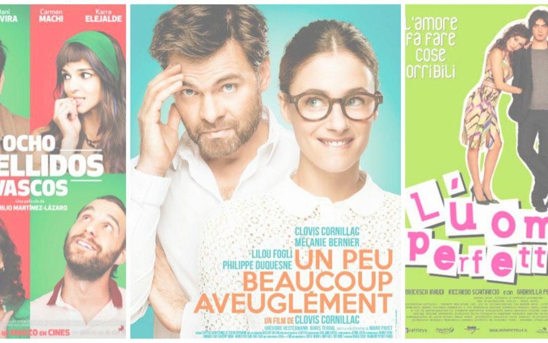 Na babski wieczór: trzy śmieszne komedie romantyczne w językach romańskich