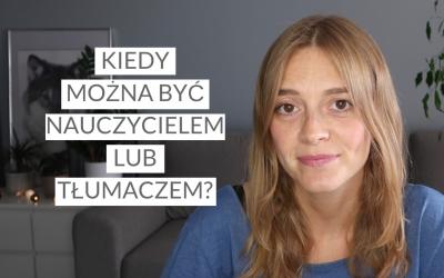 Jak dobrze trzeba znać język, aby zostać nauczycielem lub tłumaczem